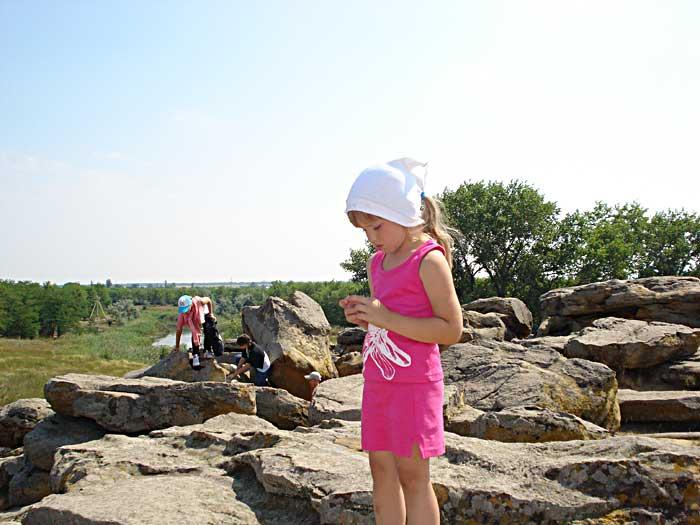 Поездка на Каменную Могилу