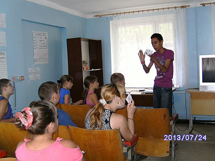 Английский в детском оздоровительном центре ЛIСОВА ПIСНЯ