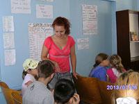Английский в лагере 2013