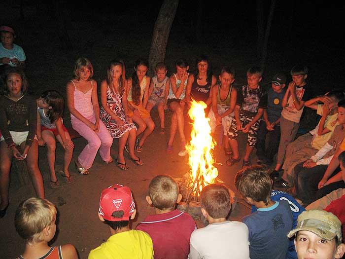 игры для детей в лагере