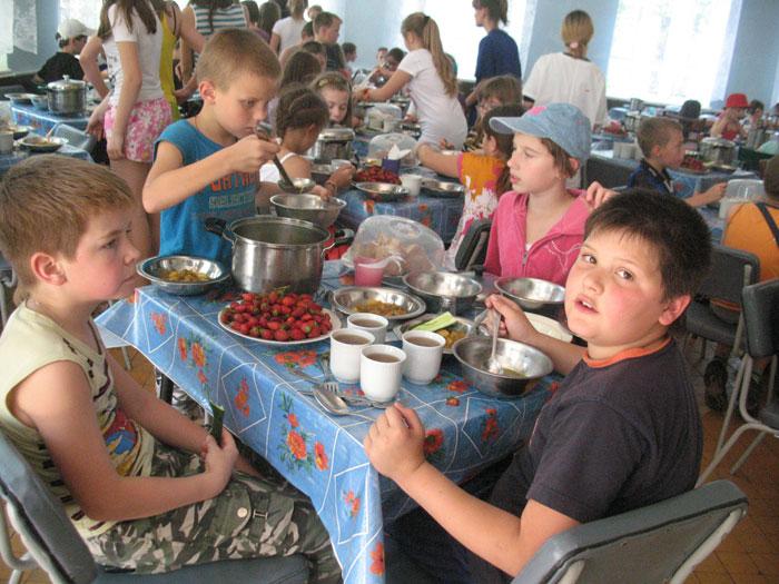 Столовая лагеря